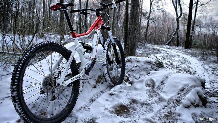 bicycle winter sport wallpaper