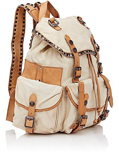 Campomaggi Studded Backpack - Backpacks - 504493866