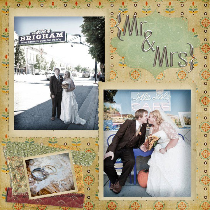 #wedding #scrapbook