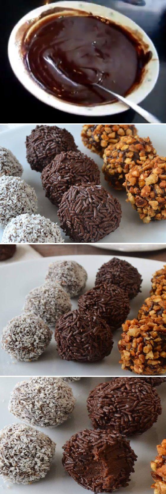 Nueva receta: TRUFAS DE CHOCOLATE AL COÑAC, cuando vemos lo fácil que es nos parece imposible. #trufas #bombones #conac #dulces #coco #coconut #almendra #tips #pain #bread #breadrecipes #パン #хлеб #brot #pane #crema #relleno #losmejores #cremas #rellenos #cakes #pan #panfrances #panettone #panes #pantone #pan #recetas #recipe #casero #torta #tartas #pastel #nestlecocina #bizcocho #bizcochuelo #tasty #cocina #chocolate Si te gusta dinos HOLA y dale a Me Gusta MIREN...