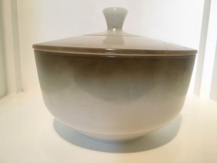 A personal favorite from my Etsy shop https://www.etsy.com/listing/472127707/vintage-federal-mixing-bowl-with-lid-2