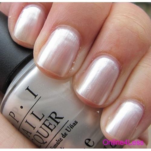 Bridal Gel Nail Polish: OPI: Kyoto Pearl.. Like This As A French Tip!
