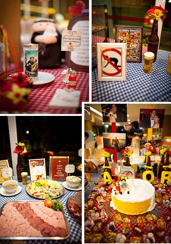 Michelle Marques: Festa Boteco - Ideias