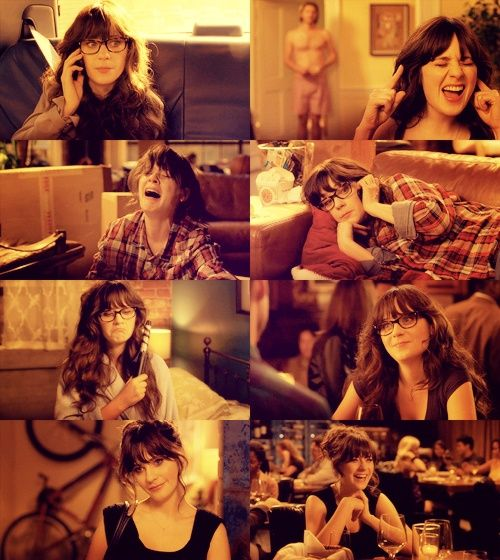 AND this is who I am all the time.  Jess - New Girl