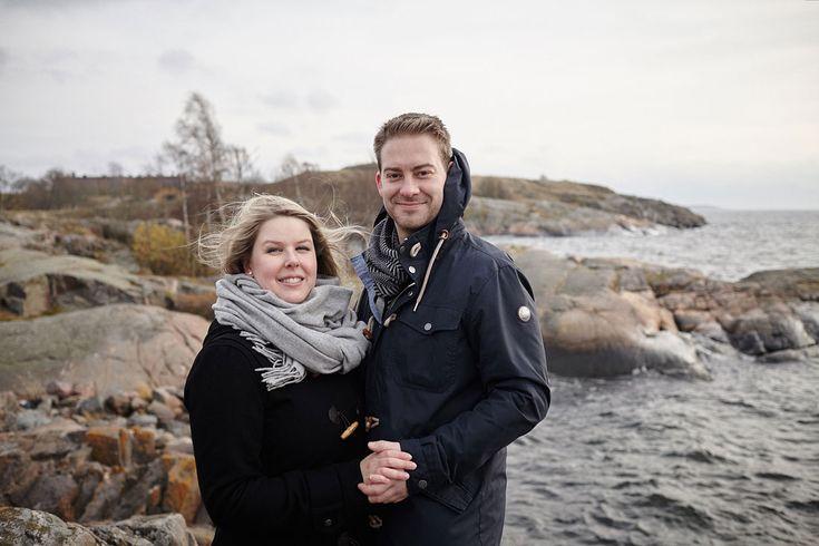 A & J Save the date kuvaus Suomenlinnassa | Teemu Höytö Photography