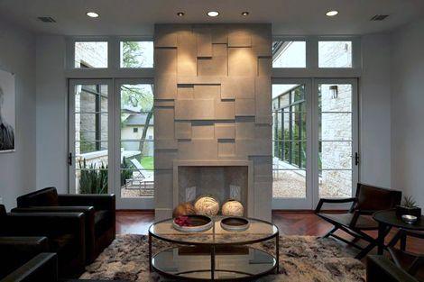 BERTHOLD HAAS DESIGN  Modern Fireplaces