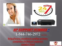 At 1-844-746-2972 Toll Free,hp support  For USA&CANADA There are several headaches that come across the wireless printer connection, some of those are:Configuration issue,Compatibility issue,Install/uninstall issue,How to install printer software,Ink cartridge and paper jam issue. And much more.,All the above mentioned issues can be encountered anytime, that you can make free from, by just place a call at 1-844-746-2972 numbers and avail a wide range of HP Support services.And much…