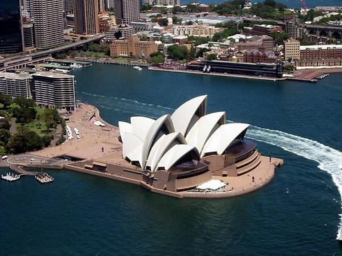 All sizes   Sydney Opera House, via Flickr.