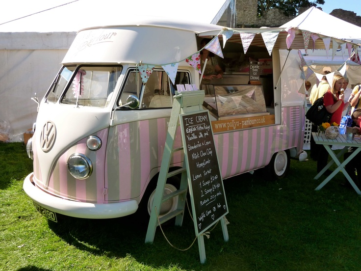Our #Vintage #VW #Ice Cream Van U0027Florenceu0027