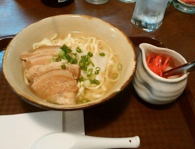 札幌 なんくる食堂 沖縄そば