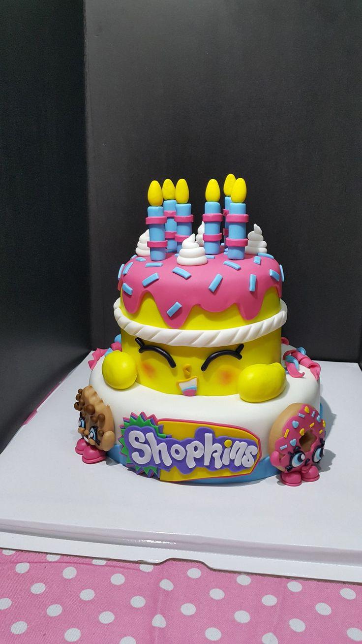 Pink donut drip cake Homemade birthday cakes, Cool