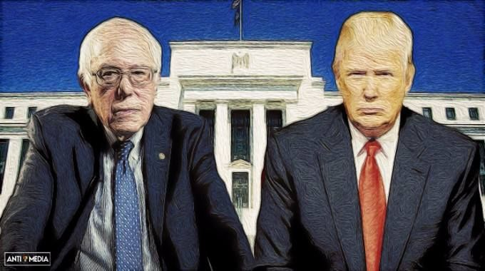 Both Bernie Sanders and Donald Trump have political ideologies that are polarities apart but they have agreed on this specific important policy.