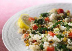 Ensalada de Quinoa y Maíz a la parrilla