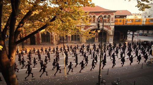 Le marathon de Berlin version Kraftwerk | The Creators Project