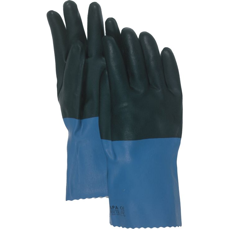 "Boss Gloves 34L 12"" Supported Neoprene Coated Chemical Gloves"