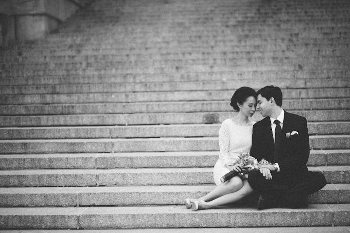 Yin & Zoltan | New York City Hall Wedding Photos