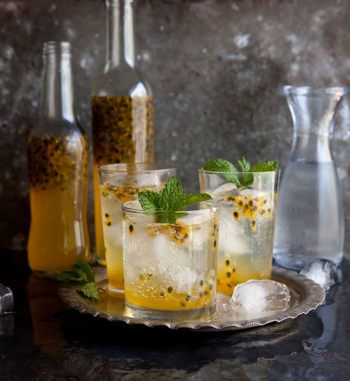 A quick and easy passion fruit cordial on DrizzleandDip.com