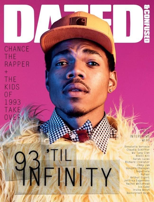 Über Fashion Marketing: Chance the Rapper na capa da Dazed & Confused de agosto