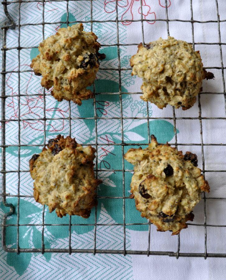 Biscuits à la banane, flocons d'avoine