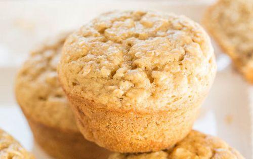 Recette facile de muffins avoine et cassonade!