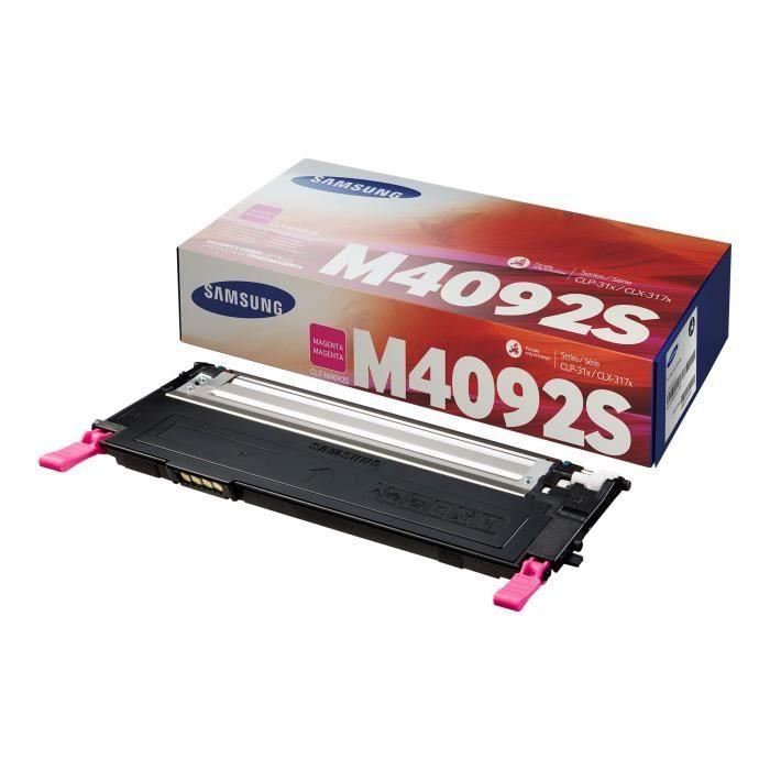Cartouche de toner magenta Samsung CLT-M4092S (SU272A) pour CLP-310/CLP-315/CLX-3170/CLX-3175 Series