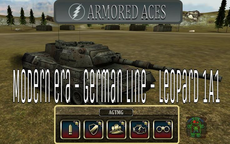 Armored Aces - Full Leopard 1A1 - Modern Era - German Line - Full HD Gameplay (1080p) More Full HD Android Gameplays: https://www.youtube.com/c/AndroidGamerTMG_AGTMG