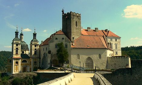 Vranov Nad Dyjí Château - First mentioned in 1100.