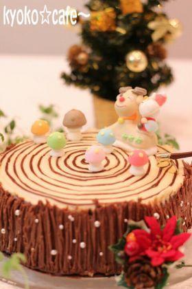 「ティラミス風☆ブッシュドノエル」きょうこcafe | お菓子・パンのレシピや作り方【corecle*コレクル】