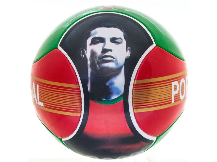 Soccer Ball Cristiano Ronaldo CR7 Portugal 6 Panels Red Green Official Size 5. Brand New Cristinao Ronaldo And Portugal 6 Panels Ball new Official size 5. The perfect ball for training and playing with your friends. Made with 100% polyurethane. Ball comes deflated. Buyer will need to inflate in order to use the ball. Play Indoor and outdoor with this great ball.