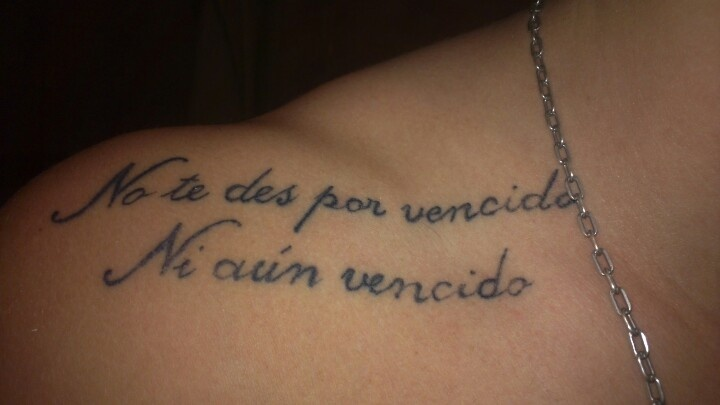 17 best images about spanish tattoo on pinterest quotes