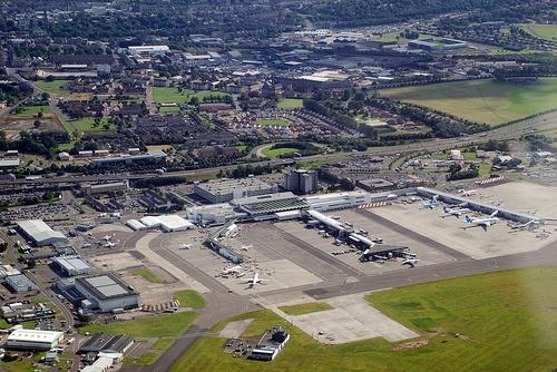 BAA Glasgow Airport today.