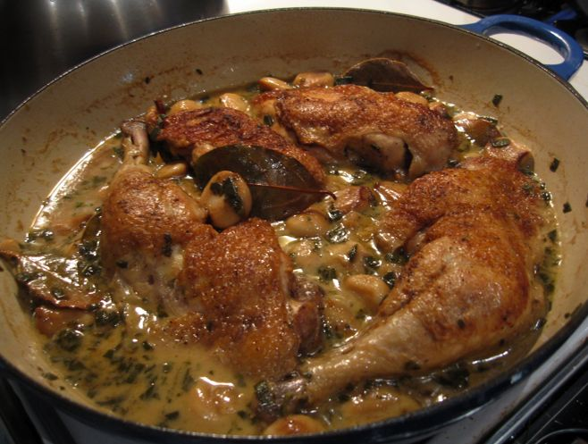 Chicken with 40 cloves of Garlic, | Main course recipes =P | Pinterest
