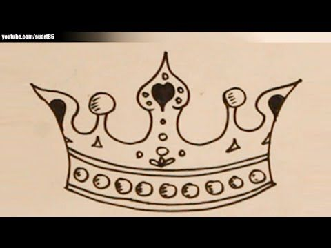 How To Draw A Heart With A Crown 21 best images about W...