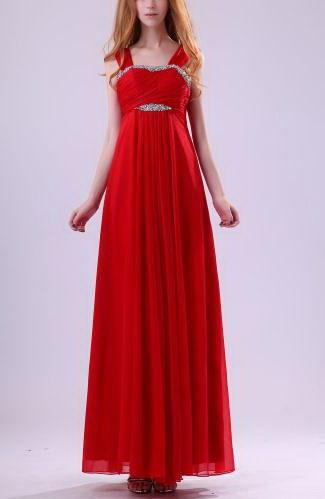 Sheath Column Straps Chiffon Party Dress - Order Link: http://www.thebridalgowns.com/sheath-column-straps-chiffon-party-dress-tbg6400 - SILHOUETTE: Sheath/Column; SLEEVE: Sleeveless; LENGTH: Ankle Length; FABRIC: Chiffon; EMBELLISHMENTS: Beaded , Paillette , Pleated , Sequin , Ruching - Price: 119.99USD