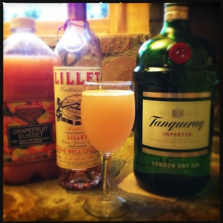 Lillet Rosé Spring Cocktail   feed me.   Pinterest