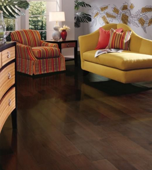 Mohawk Mocha Walnut Engineered Hardwood Flooring