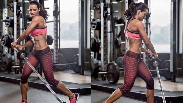 Sculpt a rock hard body with this killer muscle-building routine from IFBB figure pro Jelena Abbou.