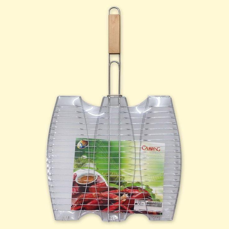 SHOP-PARADISE.COM:  Fischbräter Grillgitter für Fisch 40x36x2 cm 7,99 €
