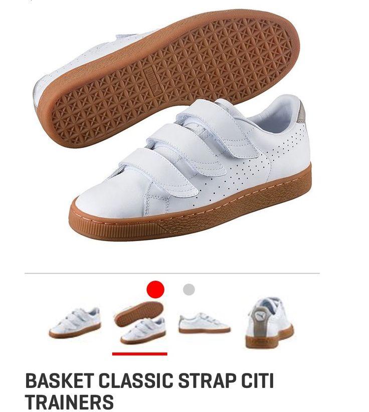 puma sneaker basket classic strap