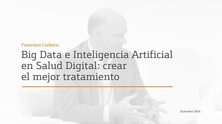 Ponencia de Francisco Curbera, Director de Foundational Technologies en IBM Watson Health, en el XXVII Future Trends Forum sobre Digital Health