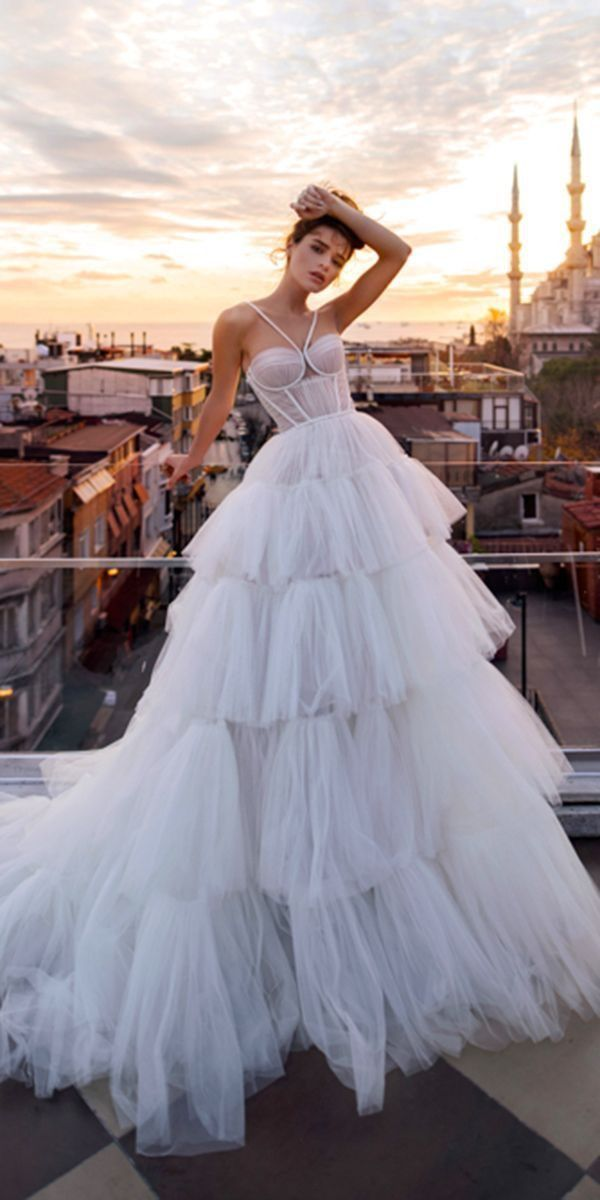 Princess Wedding Dresses Perfect for Shoes