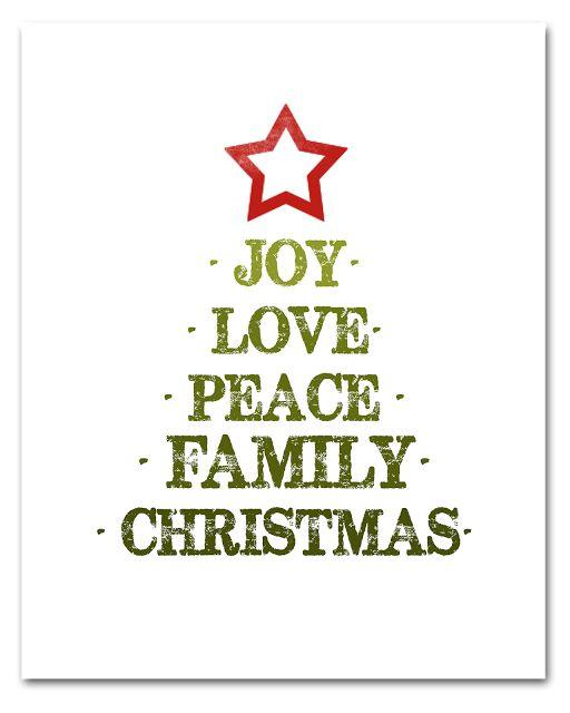 free printable christmas tags and prints at bigredclifford.com