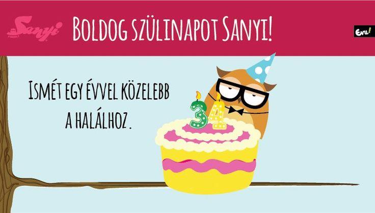 Boldog szülinapot Sanyi! http://sanyiabagoly.nlcafe.hu/2015/05/14/boldog-szulinapot-sanyi/