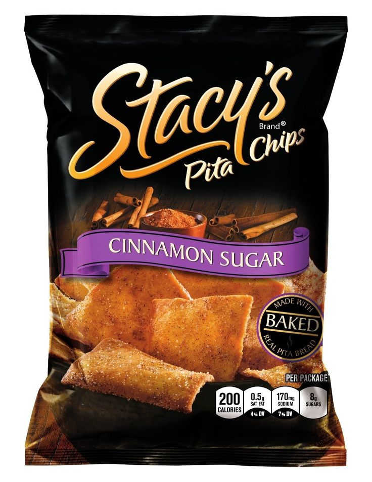 Stacy's Pita Chips, Cinnamon Sugar, 1.5-Ounce Bags (Pack of 24) * Additional details at the pin image, click it @