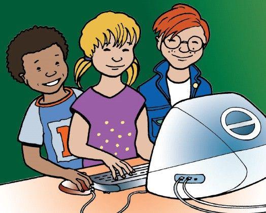 Een yurlspagina waarop je tal van lessen vindt en andere informatie in verband met ICT in het lager onderwijs.