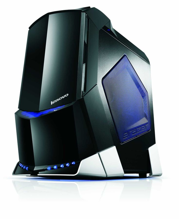 All sharp angle, LEDs, and high-end PC components, the Lenovo Erazer X700 looks every part a gaming desktop