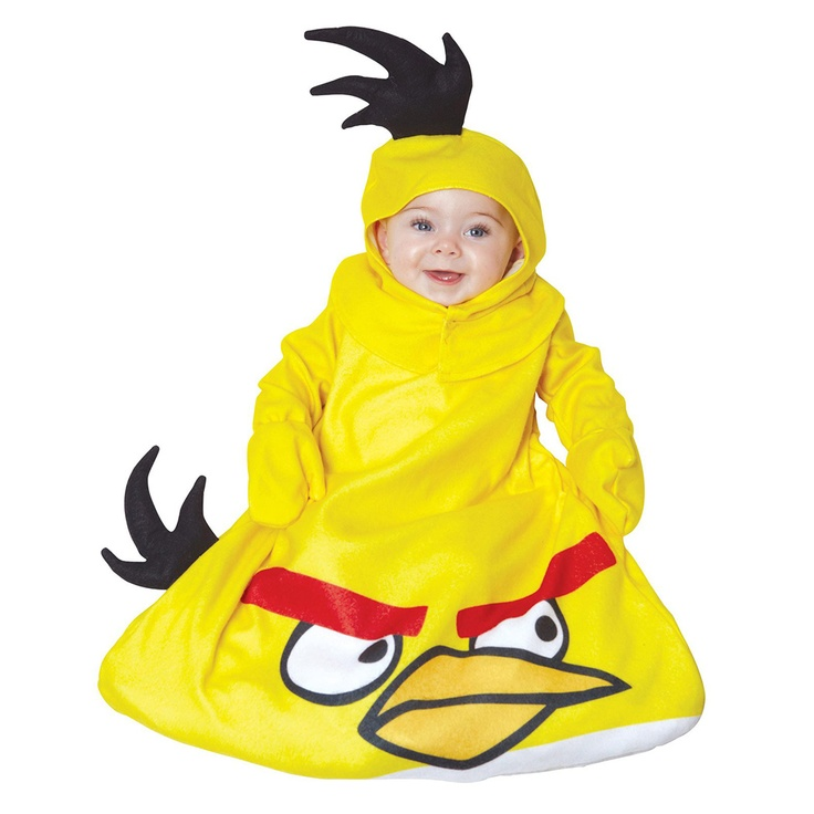 buy costumes online like the angry birds yellow bird bunting infant costume from australias leading costume shop - Where To Buy Infant Halloween Costumes