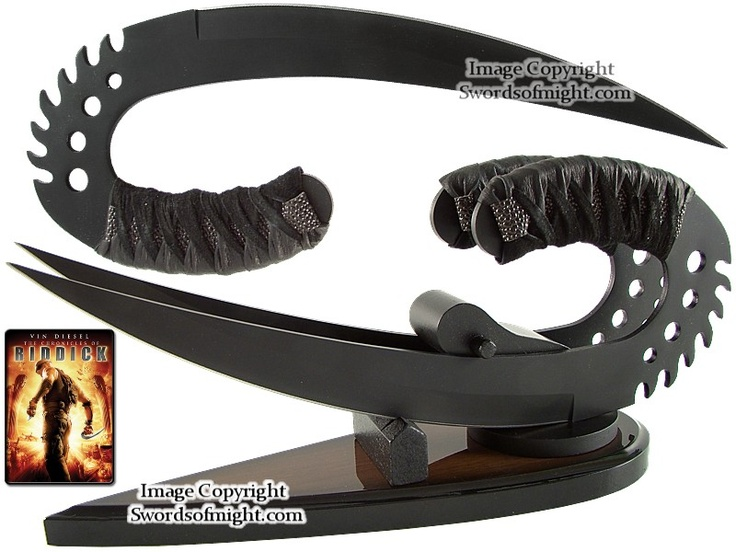 The Zombie Apocalypse >> Riddick's Saber Claws (Ulaks)   Weapons, Knives and Blade