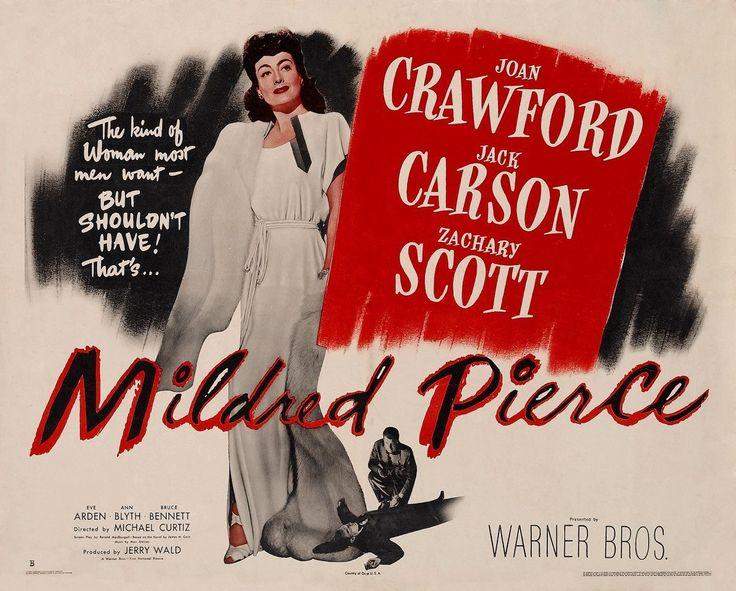 Mildred Pierce. Joan Crawford.