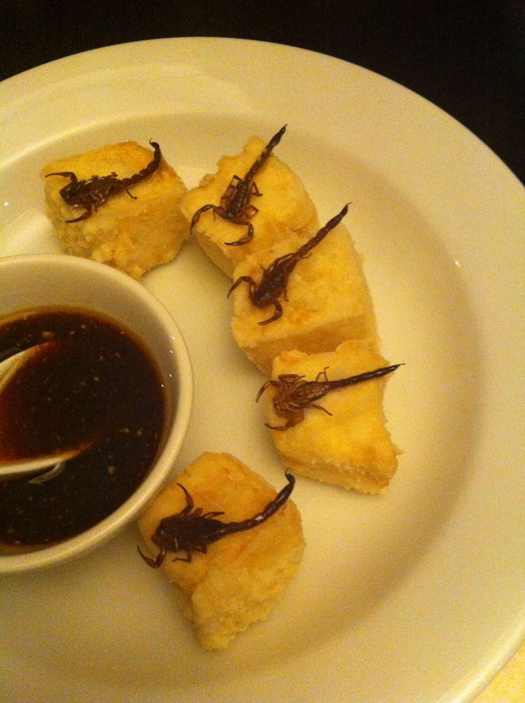 Deep fried scorpion with crispy tofu at Billy Kwong in Surry Hills